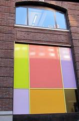 (SA_Steve) Tags: nyc windows urban color colour colors colorful colours manhattan creative blocks
