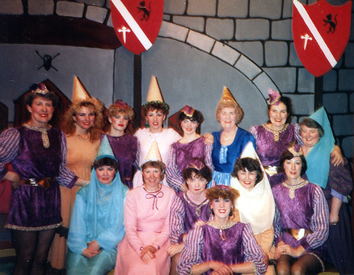 1987 Sleeping Beauty 01 (back from left x,x,x,x,x,Irene Bennett,x,Margaret Fielding, front from left x,x,Ruth Daniels,x,x,Linda Ellis)