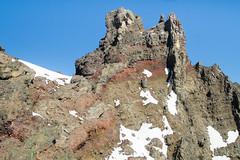 Summit of Three Fingered Jack, Oregon (Xuberant Noodle) Tags: mountain rock oregon jack volcano climb three or peak summit volcanic loose fingered