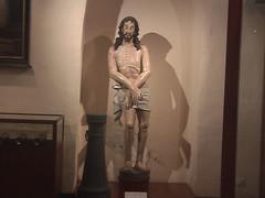 Jesus Covering Himself