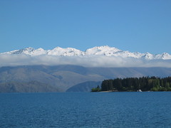 Mountains Behind Lake Wanaka