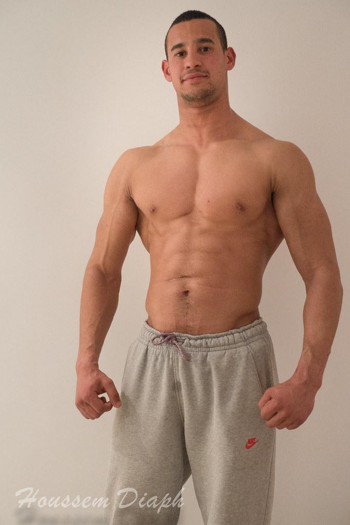 young muscular men