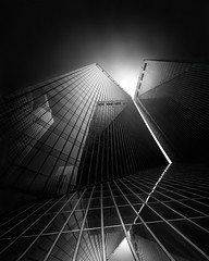 EQUIVALENTS I (Julia-Anna Gospodarou) Tags: longexposure blackandwhite architecture us unitedstates fineart houston philipjohnson architecturalphotography 2013 pennzoilplace phtd photographydrawing nikond7000 nikon1024mm blackandwhitefineartphotography formatthitech juliaannagospodarou envisionography prostopirnd architecturalphotographerathens