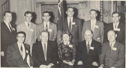 Canadians at 1955 Eastern Conference / Canadiens à la Conférence de l'Est, 1955