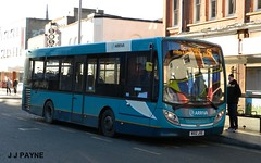 Arriva Midlands (2143) Alexander Dennis Enviro200 - MX12 JXE (J.J.Pay 8581) Tags: uk bus leicester transport 56 midlands mx12jxe