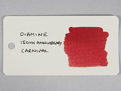 Diamine 150th Anniversary Carnival - Word Card