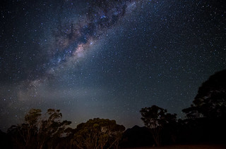 Milky Way over the Stirling Ranges