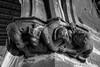 Figuras Iglesia 3 (Garimba Rekords) Tags: blanco arquitectura arte y negro pueblo iglesia bn escultura castillo navarra ujué