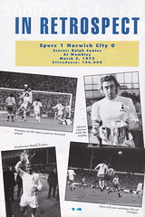 Tottenham Hotspur vs Norwich City - 1992 - Page 14 (The Sky Strikers) Tags: road city white cup spurs one official lane norwich hart to pound league tottenham wembley fifty programme hotspur rumbelows