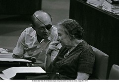 Moshe Dayan - Israel (ngao5) Tags: two people israel asia jerusalem middleeast prominentpersons leader newyorkstate twopeople goldameir governmentofficial jerusalemdistrict politicalleader southwestasia moshedayan
