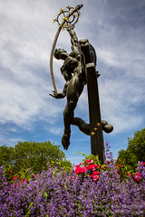 Freedom of the Human Spirit Statue in Flushing Meadows-Corona Park, New York