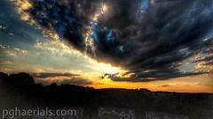 Dramatic Sunset (PGHAERIALS) Tags: pghaerials aerials drones pittsburgh