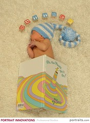 What A Good Book! (donna_0622) Tags: baby sleeping name blocks book drseuss photoshoot ohtheplacesyoullgo