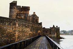 Blackness Castle (OutOutxx) Tags: castle scotland nikond3300 rain grey coast outdoors blackness outlander firth forth