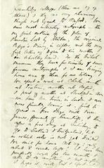 Handwritten letter to Etta Russell, 1897 August 2 (Cambridge Room at the Cambridge Public Library) Tags: cambridgemass mass londonengland letterscorrespondence authors–massachusetts–cambridge cambridgepubliclibrarycambridge russelletta1857 higginsonthomaswentworth18231911