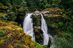 Nooksack Falls (Pedalhead'71) Tags: landscape us waterfall washington mt baker unitedstates falls glacier northcascades deming nooksack