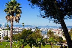 Dolores Park, San Francisco (sammy9794) Tags: sf park new nature beautiful beauty canon landscape photo hills palmtrees views bayarea t5 sanfran neat rookie sfbay novice experienced lifethroughalens