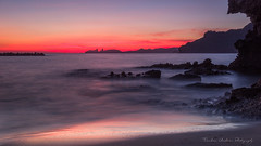 Misty Wave (Tomohiro Urakawa) Tags: dusk twilight nagasaki shore