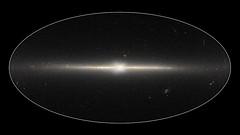Milky Way's X Core (sjrankin) Tags: 24july2016 edited nasa wise galaxy milkyway milkywaygalaxy core x stars neowise huge 435mb