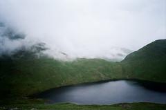 Sunk. (Paul_Munford) Tags: mist weather uk lakedistrict clouds film grain analogue olympusxa kodakultramax400 rangefinder