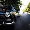 Peugeot 404 et Mercedes W108