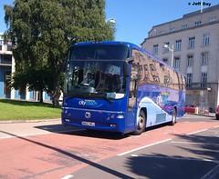 WA03MGJ (jeff.day48) Tags: volvo plymouth paragon 316 royalparade goahead transbus plymouthcitybus plymouthcitycoach b12m wa03mgj