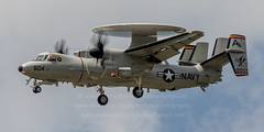 20160502_1493 (HarryMorrowPhotography) Tags: 168990 ab604 vaw125 us navy e2d hawkeye doing several approach procedures oceana may 2016