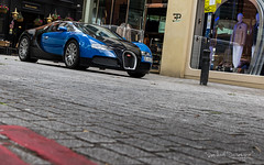 Veyron in London (Raph/D) Tags: bugatti veyron 164 french france ettore vw ferdinand piech 1000 bhp supercar hypercar sportscar 400 kmh speed fast exclusive expensive luxury molsheim london brompton road knightsbridge harrods blue bleu canon eos 7d mark ii canoneos7dmarkii lseries l series 2470mm ef2470mmf28liiusm spot spotting car w16 pierre uk great britain