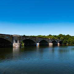 Schuylkill River Trail - Columbia Bridge - Panasonic LX100 (abysal_guardian) Tags: schuylkill river trail columbia bridge panasonic lx100 water scape lumix dmclx100 philadelphia