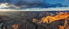 It's a kind of magic - Grand Canyon (Arizona / USA) - explored 29.08.16 (luke.switzerland) Tags: explored d810 nikon travel nature clouds colors landscape nationalpark america usa arizona sunset grandcanyon