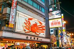 Dotonbori / Osaka, Japan (yameme) Tags: travel japan night nightshot sony evil   osaka alpha kansai   a7 dotonbori   mirrorless  emount