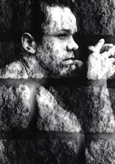 man made of stone (spencerrushton) Tags: portrait blackandwhite white black canon studio flash sigma spencer eos5 canoneos5 manfrotto rushton sigma2470mm manfrottotripod canon5 spencerrushton