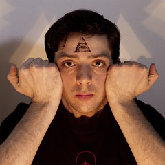 Self Portrait as Aleister Crowley (literallyso) Tags: portrait eye self third occult annuit coeptis