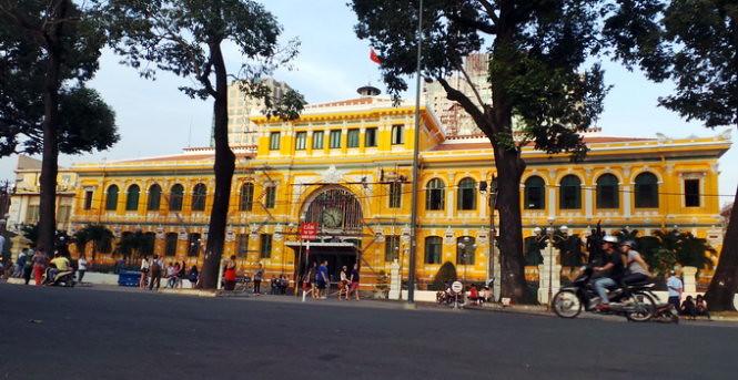 Bưu điện trung tâm Sài Gòn phủ Nano