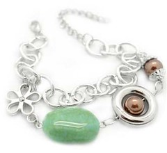 Glimpse of Malibu Green Bracelet P9510A-4