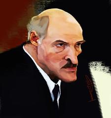 Lukashenko (muratdilmanov) Tags: illustration president caricature belarus lukashenko