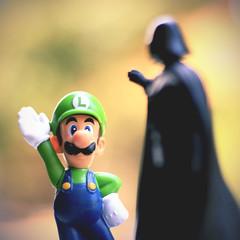 Toys (Diego Viana Gomes) Tags: toy toys star starwars action nintendo super mario darth wars vader bros figures skywalker