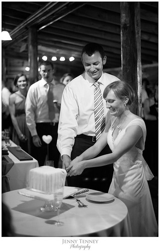 """Kelly and Louis cutting their sweet wedding cake. • <a style=""""font-size:0.8em;"""" href=""""http://www.flickr.com/photos/50891271@N03/16160489358/"""" target=""""_blank"""">View on Flickr</a>"""