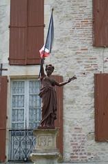 Liberté, Égalité, Fraternité (ukmjk) Tags: france liberty am cafe nikon lot charlie liberté coolpix brotherhood equality 8000 montcuq fraternité égalité i