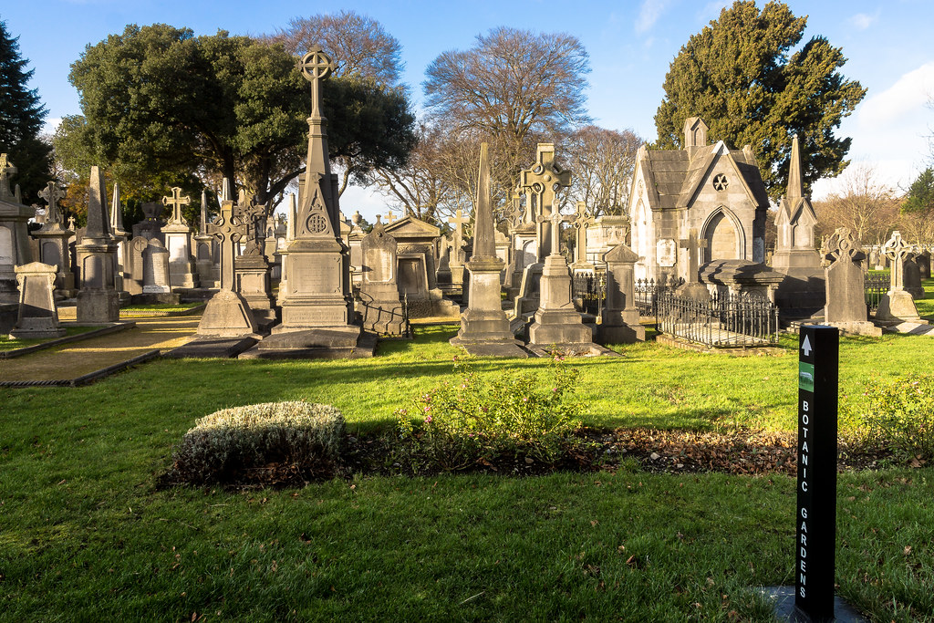 Glasnevin Cemetery, officially known as Prospect Cemetery REF-101120