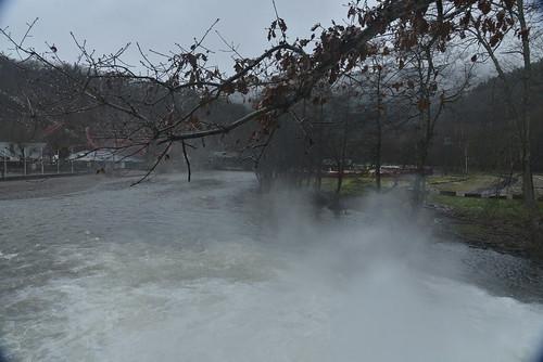 L'embrun de la cascade