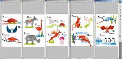 in progress....bad ---> Bat  Jerryfish ---> Jellyfish (Kyoko Nemoto) Tags: animal japan illustration photoshop children fun book design drawing illustrator alphabet kyoko        nemoto     kyokonemoto