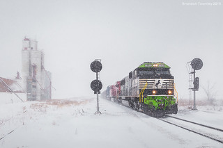 GoRail in the Snow