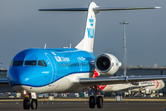 "KLM Fokker 70 • <a style=""font-size:0.8em;"" href=""http://www.flickr.com/photos/125767964@N08/16364840255/"" target=""_blank"">View on Flickr</a>"