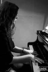 Licia Missori recording @ Helikonia Studios