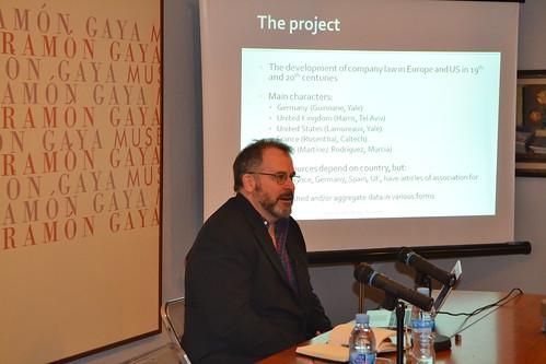 Seminario de expertos en Historia, Legislación y Organización Societaria 8