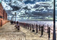 Albert Dock, Liverpool (Kevin From Manchester) Tags: england liverpool dock kevin ships walker hdr mersey albertdock merseyside