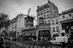 Moulin Rouge (Vladimir Lazarov) Tags: bw paris pentax smc 1017 k01