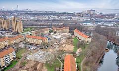 Elineberg - Flygfoto över området
