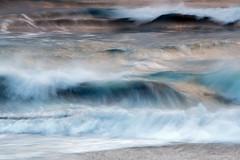 Morning Waves (Sophie Carr Photography) Tags: ocean longexposure morning winter sea colour iceland movement waves jokulsarlon